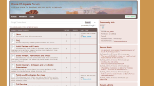 forum screen shot